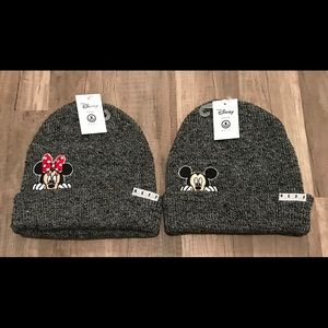 Neff X Disney Mickey & Minnie Beanie BUNDLE
